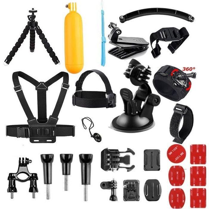 AKASO Caméra Sport 14 Accessoires en 1 Pack pour Gopro Hero AKASO EK7000 Brave 4 V50 Pro EK7000 Pro V50 Elite Dragon Touch Vision3/4