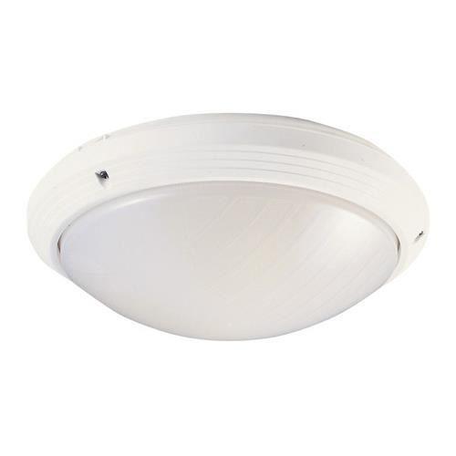 hublot décoratif extérieur rond diamètre 270 mm aric 270t blanc