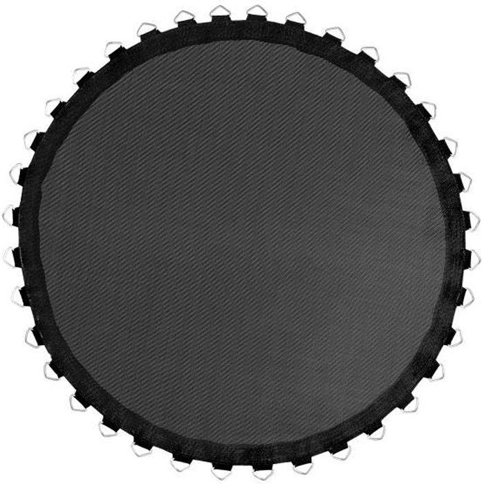 Tapis de Saut et Rebond de Remplacement pour Mini Trampoline Rond 101 cm avec 36 Ressorts de 8,9 cm (non inclus)
