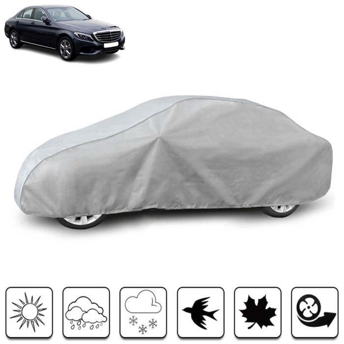 Housse de protection carrosserie auto extérieur Mercedes Classe C W205 - Bâche voiture pour Mercedes Classe C W205