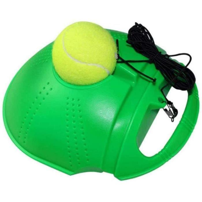 BALLE DE TENNIS Tennis Rebounder,Tennis Trainer Kit-Tennis Rebounder avec Cordes De Corde Balle De Tennis Auto-Entra&icircnem330