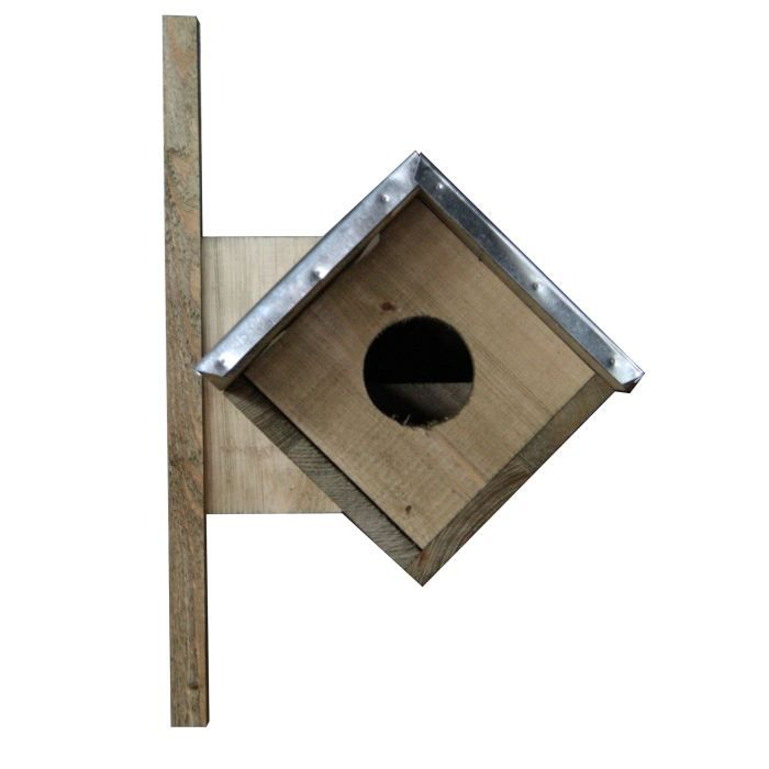 Esschert Design Nichoir pour hulotte 80,5 x 31 x 52 cm