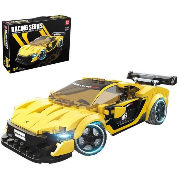 VEHICULE A CONSTRUIRE ENGIN TERRESTRE A CONSTRUIREDOSGO Technic Voiture de Sport pour McLaren P1, 366 Pi&egraveces Bloc de Co123