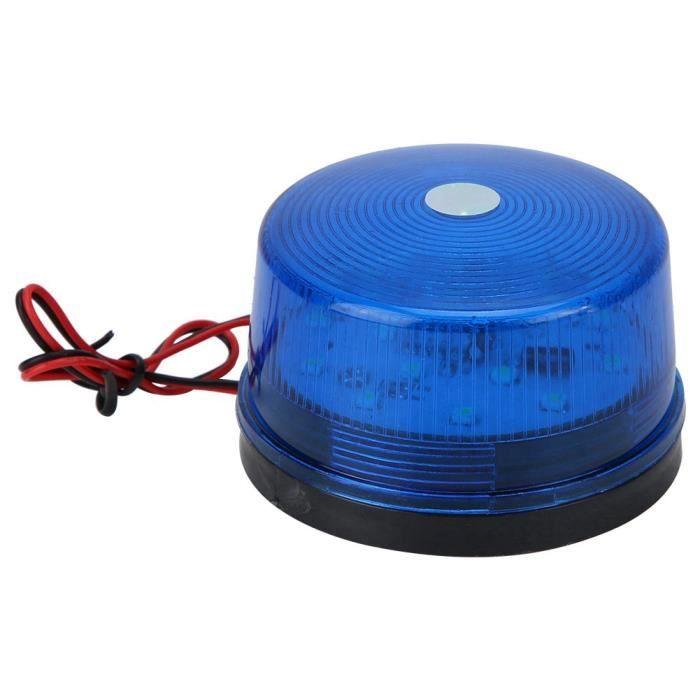 YOSOO Voyant d'avertissement à LED 12V LED clignotant gyrophare stroboscopique LED voyant d'avertissement lampe d'urgence de