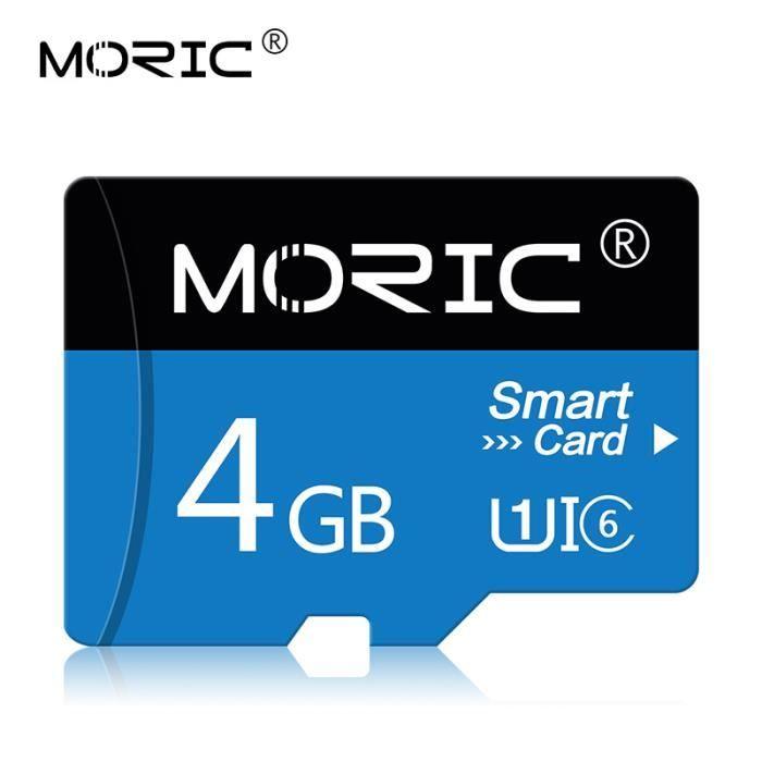 Stockage haut débit Carte mémoire Micro SD Classe 10 Carte mémoire SD-4 Go