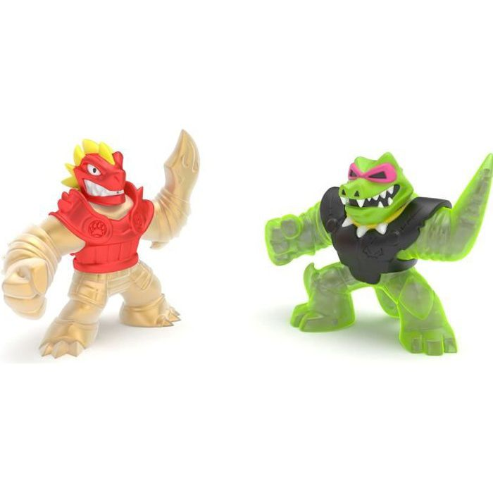 PACK DUO FIGURINES 11CM BLAZAGON VS ROCK JAW - GOO JIT ZU SAISON 2