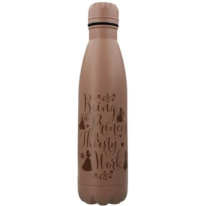 Disney Princess Bouteille d'eau Thirsty Work Bouteille de boissons en métal