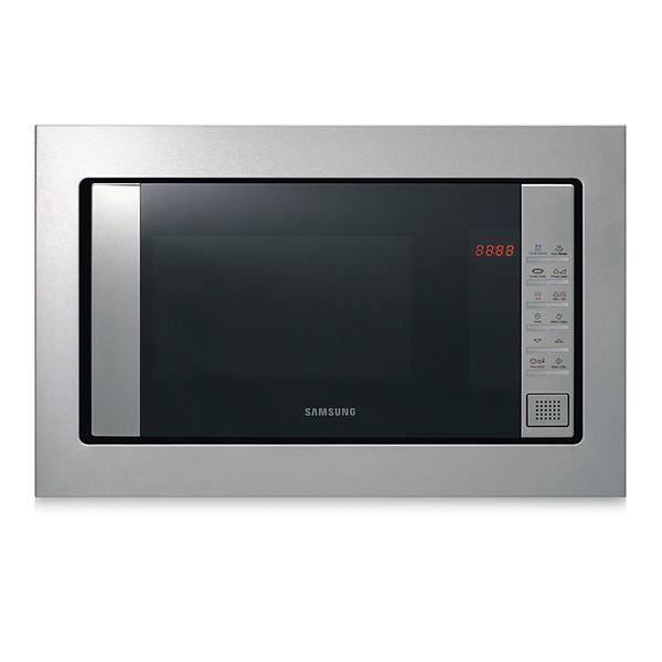 Micro-ondes rectangulaire avec Gril et livre de cuisine - 800 W avec plateau tournant