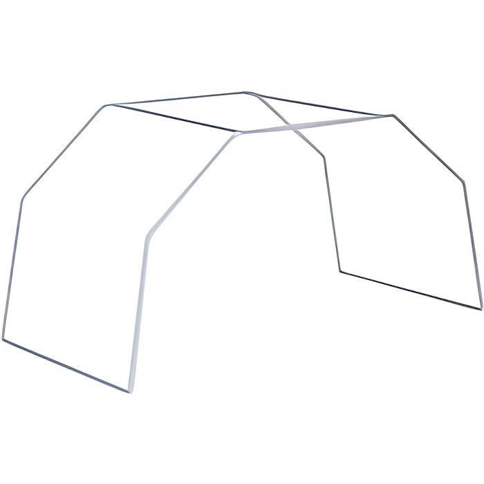 Arceau de lit blanc, grand modèle