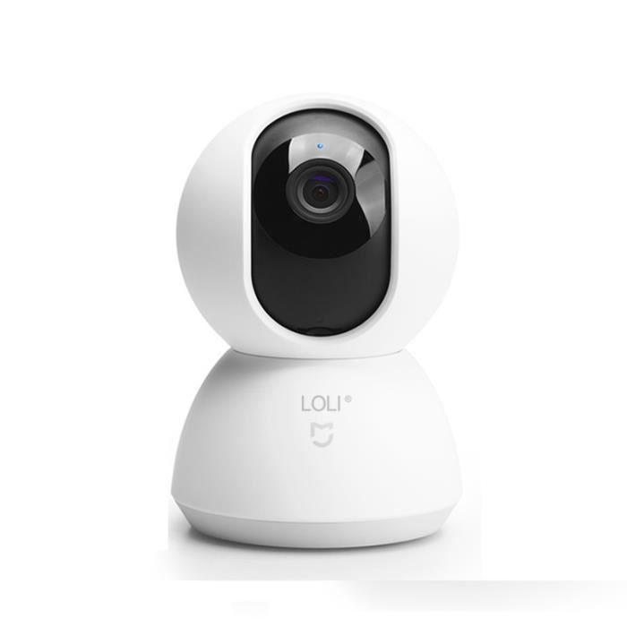MI Surveillance Intelligente Caméra 720 P À Distance Accueil Surveillance Infrarouge HD 360 ° enregistreur vidéosurveillance