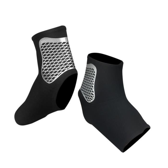 2 pièces attelle de cheville respirant élastique de protection manchon de garde pour le sport PROTEGE-CHEVILLES - CHEVILLERE