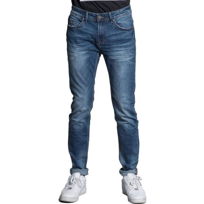 Jean bleu brut Homme Deeluxe 74 Carlos