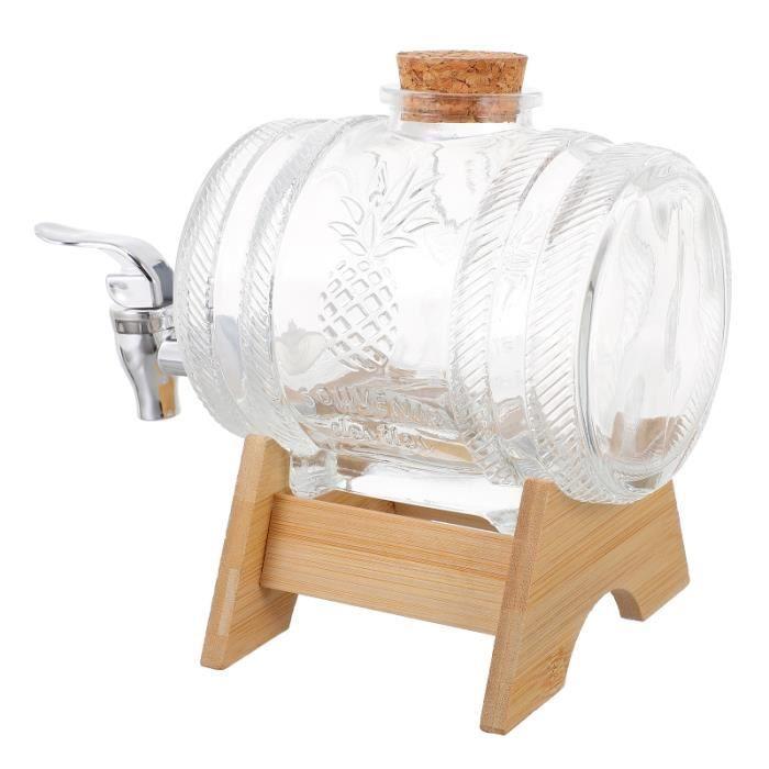 1 Set 1kg Distributeur de Boissons Vintage à vintage Porte-Bambou fontaine a - fontaine a vin service aperitif - oenologie