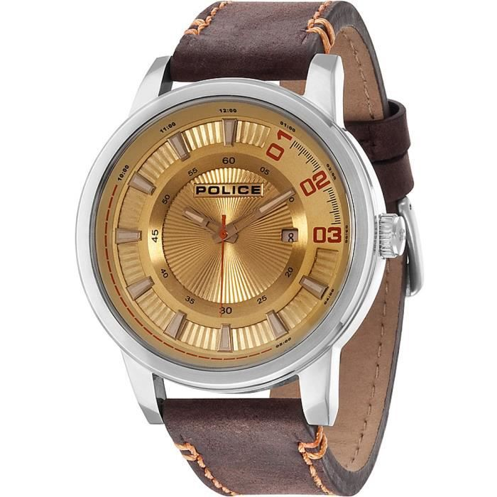 Montre homme POLICE WATCHES SUNSET R1451244001. Fa