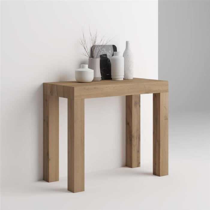 Table Console Extensible First Bois Rustique Achat Vente