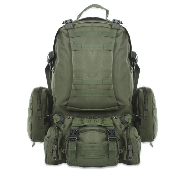 arm/ée verte Non-brand 1pcs Militaire Molle Sac Accessoires De Randonn/ée Voyage Confortable Ajustable