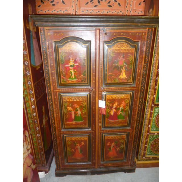 Armoire basse maharadja maharani achat vente armoire for Armoire basse chambre adulte