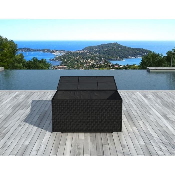 Box en résine Tressée Delorm Design - Noir