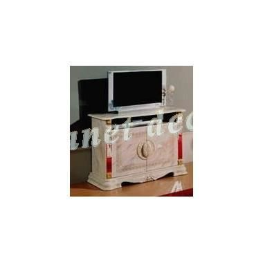 Meuble tv modele betty beige achat vente meuble tv for Meuble tv beige