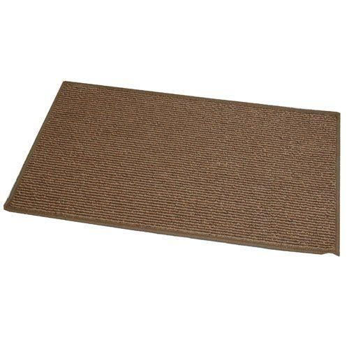 Jvl oxford paillasson lavable en machine marron 40 x 70 cm for Paillasson lavable en machine