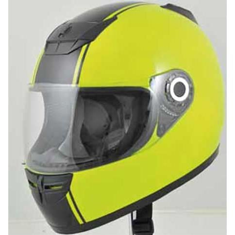 casque integral moto boost b530 jaune fluo noir achat vente casque moto scooter casque. Black Bedroom Furniture Sets. Home Design Ideas