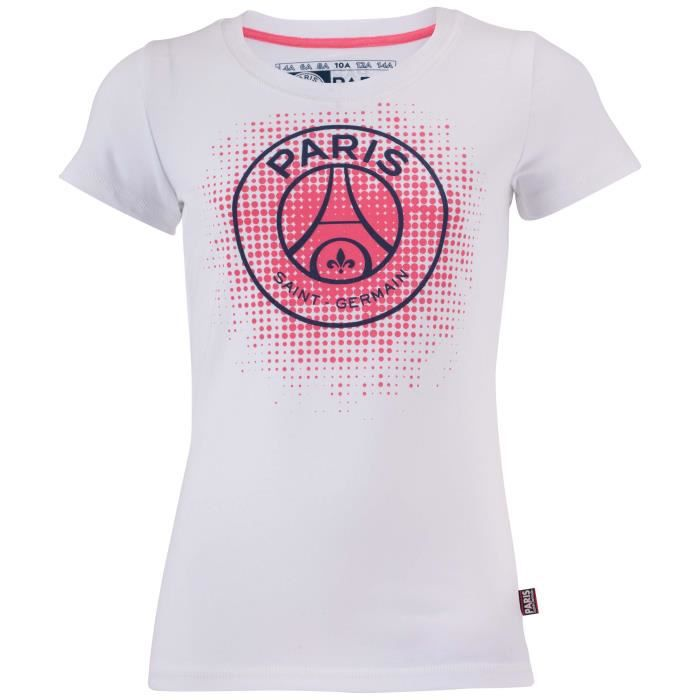 t shirt psg fille collection officielle paris saint. Black Bedroom Furniture Sets. Home Design Ideas