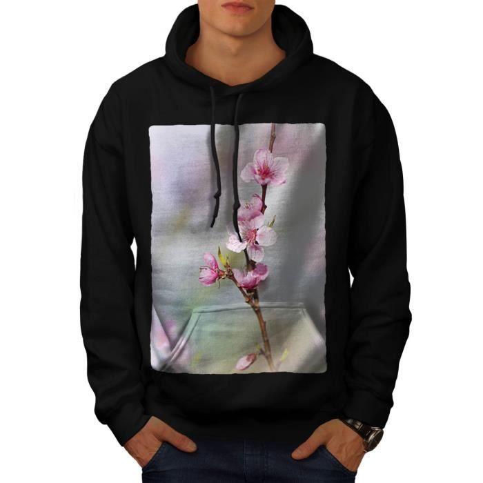 Sakura Arbre Fleur Japonais Men S 5XL Sweat à capuche | Wellcoda