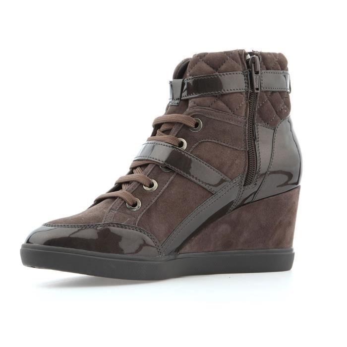 paleta Desconfianza Embajador  Chaussures Geox D Eleni C Noir - Achat / Vente espadrille - Soldes sur  Cdiscount dès le 20 janvier ! Cdiscount