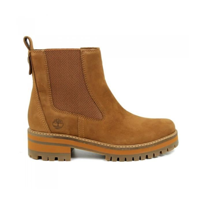 795dcf8b6a3 TIMBERLAND Bottines - Élastique - Nubuck - Camel - Taille - Quarante ...