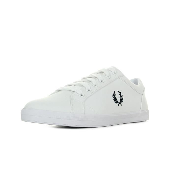 Baskets Fred Perry Baseline Canvas White P7J92z8MH