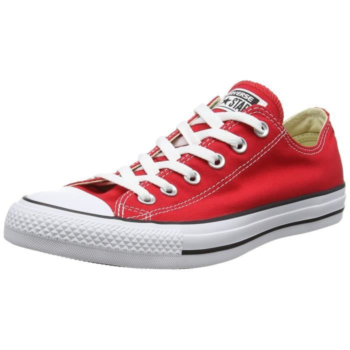 converse femme all star rouge