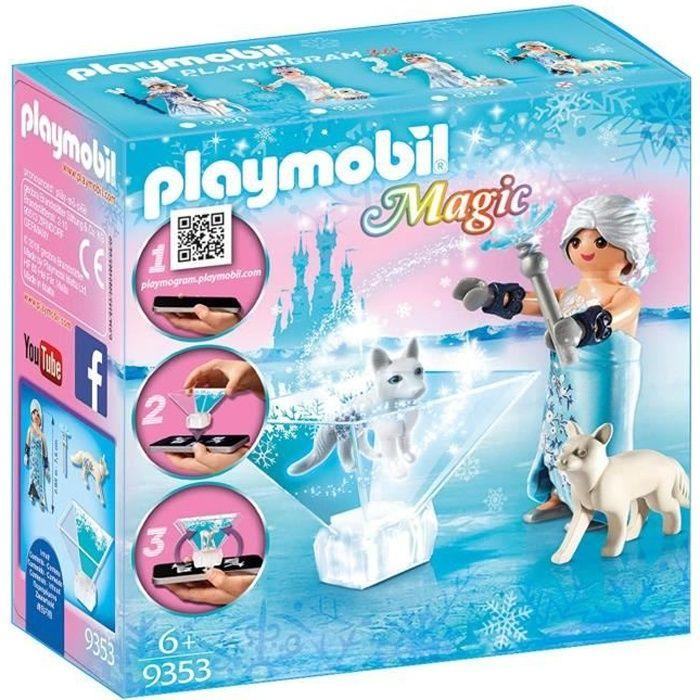 UNIVERS MINIATURE PLAYMOBIL 9353 - Magic - Princesse des glaces - No