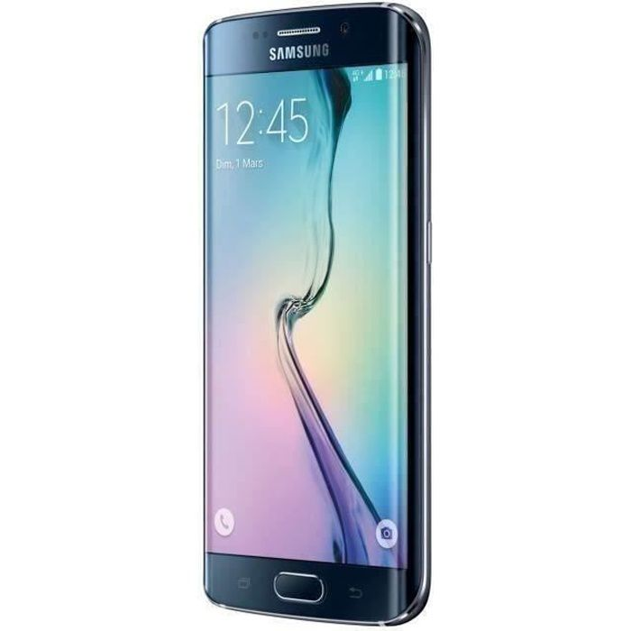 SMARTPHONE RECOND. Samsung Galaxy S6 Edge 32 Go Noir reconditionné à