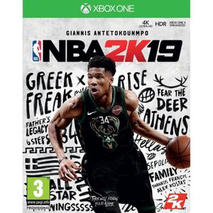 JEU XBOX ONE NBA 2K19 Jeu Xbox One