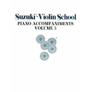 PARTITION Suzuki Violin School: Piano Accompaniments