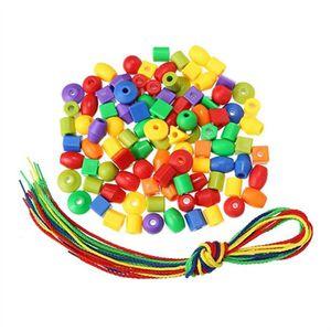 BOÎTE À FORME - GIGOGNE Blocs de construction cordes perles avec 400g perl