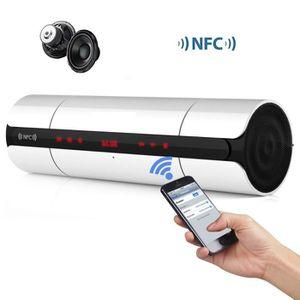 ENCEINTE NOMADE Stereo Portable KR8800 NFC FM HIFI Haut-parleur Bl
