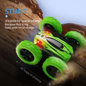 VOITURE - CAMION Tonsee®Enfants 360 ° Rotation Stunt modèle de voit