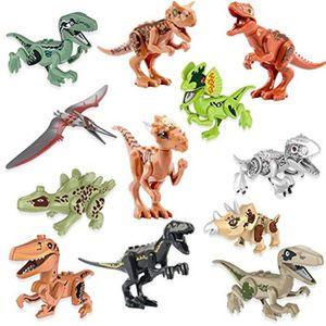 Nouveau 34 Pièces Jouets Animal figure dinosaure Dinosaur Kids Collection Figurines Safari Set