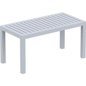 Table de jardin en plastique Gris - Achat / Vente Table de ...