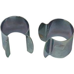 Lot de 20pcs 19mm Serre Clips,pinces /à tuyau pour la fixation des housses au jardin Serres,des Films,des Plantes