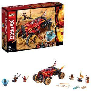 ASSEMBLAGE CONSTRUCTION LEGO NINJAGO - Le 4x4 Katana, Jeu pour Enfant 8 An