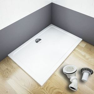RECEVEUR DE DOUCHE 70x90cm Receveur de douche avec bonde de douche es