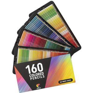 CRAYON DE COULEUR ⭐160 Crayons de Couleurs (Numérotés) Zenacolor - R