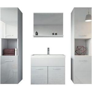 SALLE DE BAIN COMPLETE Meuble de salle de bain de Montréal XL 60x35cm bas