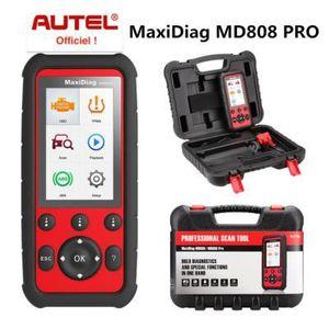 OUTIL DE DIAGNOSTIC MaxiDIAG MD808 PRO - Valise Diagnostic Auto Multim