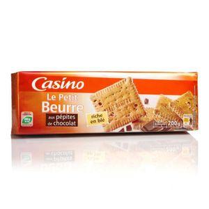 BISCUITS CHOCOLAT Petits-beurre pépites de chocolat - 200 g
