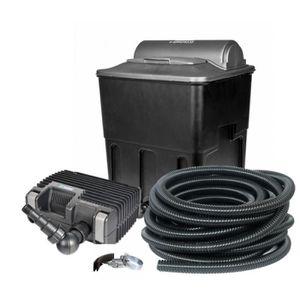 BASSIN D'EXTÉRIEUR Kit de filtration bassin 20000 complet avec pompe,