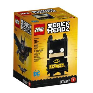 ASSEMBLAGE CONSTRUCTION LEGO Brickheadz Batman 41585 Kit de construction T