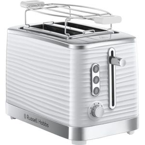 GRILLE-PAIN - TOASTER RUSSELL HOBBS - TOASTER 2 FENTES BLANC INSPIRE